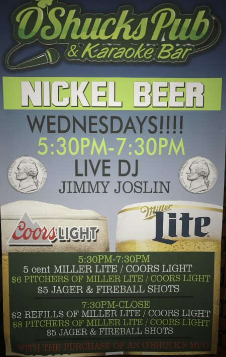 Nickel Beer Night